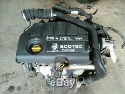 Vauxhall Astra G Mk4 H Mk5 Van 1.7 16v Cdti Z17dtl Engine & Turbo 2003-2006