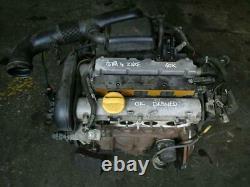 Vauxhall Astra G Mk4 Meriva A Zafira A Z16xe 1.6 16v Engine Petrol 60k 2001-2004