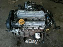 Vauxhall Astra G Mk4 Meriva A Zafira A Z16xe 1.6 16v Engine Petrol 83k 2001-2004