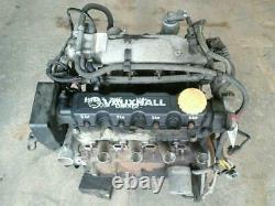 Vauxhall Astra G Mk4 Meriva Combo 1.6 8v Petrol Z16se Engine 101k 2001-2005