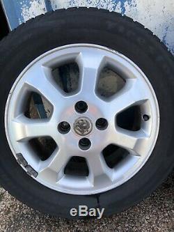 Vauxhall Astra G Mk4 SXI H Mk5 Van Meriva A 15 Inch Alloy Wheels & Tyres
