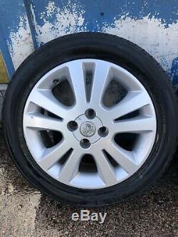 Vauxhall Astra G Mk4 SXI H Mk5 Van Meriva A 16 Inch Alloy Wheels & Tyres