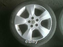 Vauxhall Astra G Mk4 Se2 17 Rossa 5 Stud Alloy Wheels + 6mm 215/45/17 Tyres