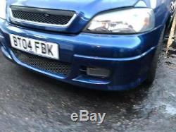 Vauxhall Astra G Mk4 Sri Prodrive Front Bumper 2002 Z22se 2.2