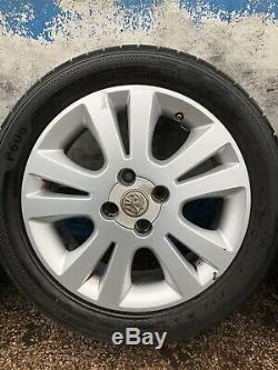 Vauxhall Astra G Mk4 Sxi / Corsa Combo Van Set Of 16 Inch Alloy Wheels & Tyres