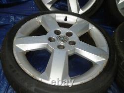 Vauxhall Astra G Mk4 Turbo Set Of Alloy Wheels 5 Stud 215/40z R17 1998 To 2004