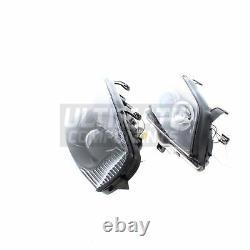 Vauxhall Astra G Mk4 Van 1998-2004 Angel Eyes Headlights Headlamps Black Inner