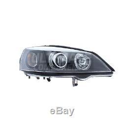 Vauxhall Astra G Mk4 Van 1998-2004 Depo Angel Eyes Headlights Lamps Black Inner