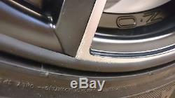 Vauxhall Astra G Mk4 alloy wheels 7.0x16 OZ Adrenalina 4/100 ET42-37, Mat Black