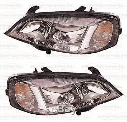 Vauxhall Astra HEADLAMP LAMP XENON GSI PROJECTOR 98-04 chrome shark eye