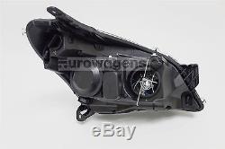 Vauxhall Astra H 04-07 Black Headlights Headlamps Pair Set Driver Passenger