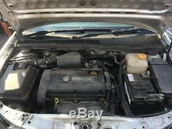 Vauxhall Astra H Meriva Zafira B 1.6 Z16XEP Engine 62K Miles 90 Day Warranty