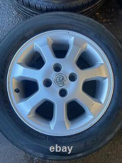 Vauxhall Astra MK4 4 Stud 15 Alloy Wheels Full Set 195/60R15 6J ET49