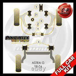 Vauxhall Astra MK4 (98-04) Powerflex Black Complete Bush Kit Non 2.0T Models