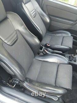 Vauxhall Astra MK4 G GSI front seats Z20LET turbo Z22SE Z18XE X18XE1 coupe