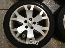 Vauxhall Astra MK4 Gsi 17 Snowflake Alloys with tyres