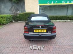 Vauxhall Astra MK4 TURBO Convertible 2.0 16V BLACK 54REG 2005 CHEAP BARGIN good