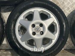 Vauxhall Astra Mk4 15 Alloy Wheels & Tyres 4x100 195/60/15