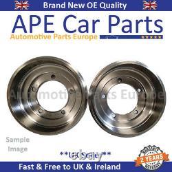 Vauxhall Astra Mk4 98-06 1.4 1.6 1.7TD DTI CDTI Rear Brake Drum X2