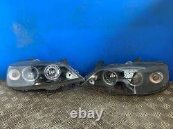 Vauxhall Astra Mk4 Bertone Sk3300 Pair Headlights Driver Passenger O/s N/s