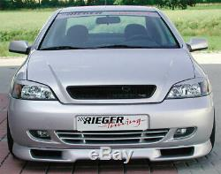 Vauxhall Astra Mk4 Coupe Genuine Rieger Front Spoiler (ABS)
