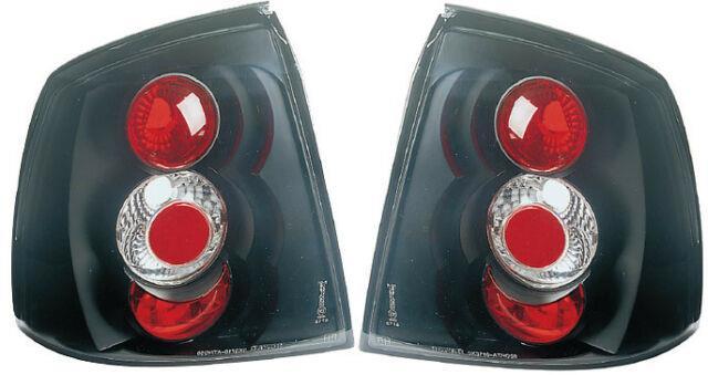 Vauxhall Astra Mk4 G Hatchback Black For Lexus Rear Back Tail Lights Lamp