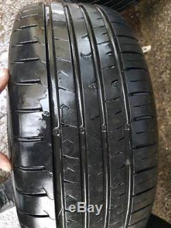 Vauxhall Astra Mk4 Gsi 17 Snowflake Alloy Wheels With Tyres 5x110 Corsa Vectra