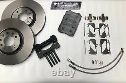 Vauxhall Astra Mk4 Gsi / Sri Brembo Big Brake Caliper Fitting Kit Zafira Gsi