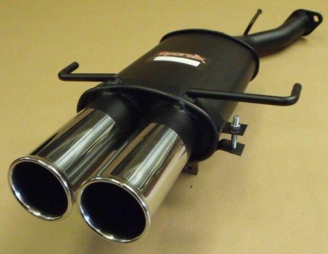Vauxhall Astra Mk4 Hatch 1.4 1.6 1.8 2.0 2.2 Sportex Exhaust Tailbox Twin 3