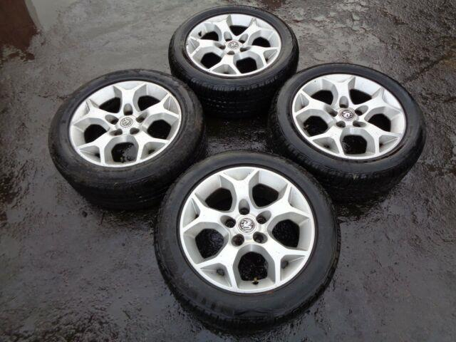Vauxhall Astra Mk4 Mk5 16 Alloys With Tyres 205/55/16 1998-2009 Leicester