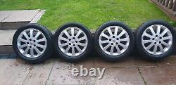 Vauxhall Astra Mk4 Sri 16 10 spoke Alloys with Tyres x4