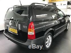 Vauxhall Astra Van 1.7 Dti Sportive Black 52,000 Miles Fsh Stunning Astravan Mk4