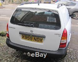 Vauxhall Astra Van Petrol Mk 4. Long MOT Recent New Tyres & Battery. Doc's