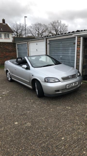 Vauxhall Astra Mk4 G 1.8 Convertable Coupe Cabby