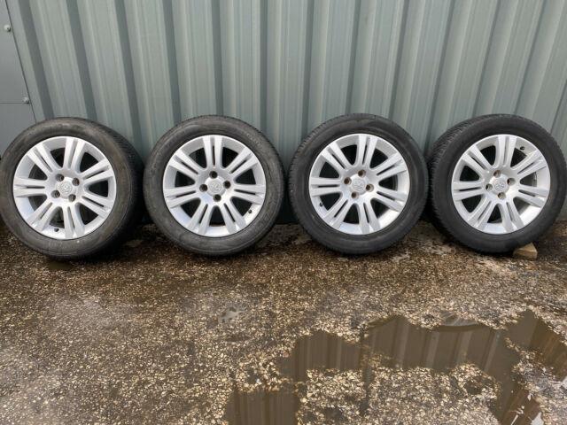 Vauxhall Corsa Astra H Mk5 Meriva A Combo Van 16 Inch Alloy Wheels & Good Tyres