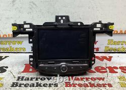 Vauxhall Corsa E Mk4 2016 Radio Sat Nav Screen Display Head Unit-555343750