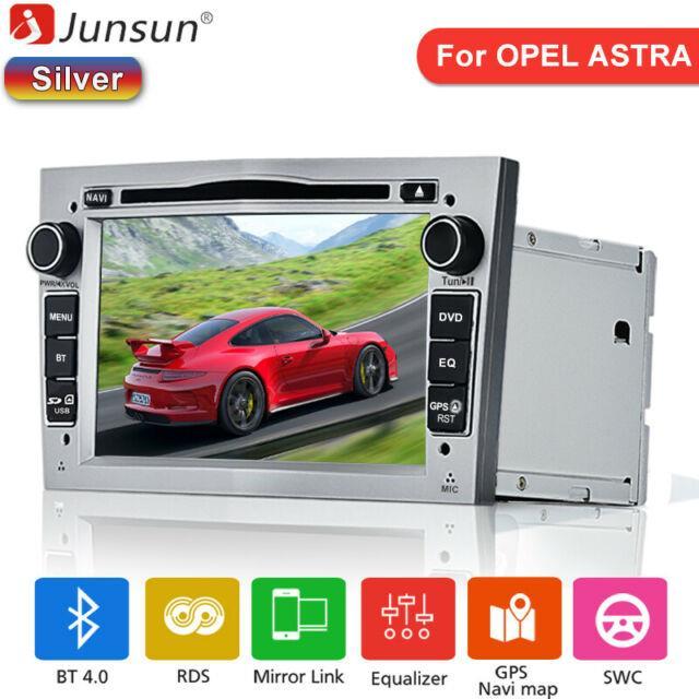 Vauxhall/opel Astra Corsa Vectra Car Stereo Dvd Player Gps Sat Nav Radio Silver