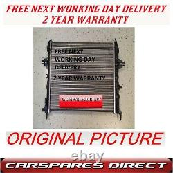 Vauxhall Opel Astra G Mk4 Zafira 98 Automatic Radiator With A/c New