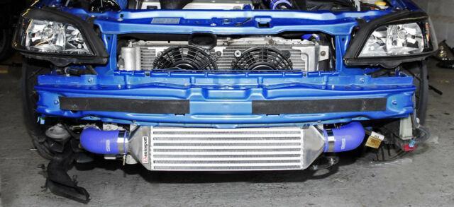 Vauxhall Zafira Astra Mk4 Gsi Sri Turbo Intercooler Kit + 63mm Pipework Red