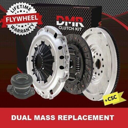 Vauxhall Zafira Clutch Kit For 2.0 Dti+dual Mass Conversion Solid Flywheel & Csc