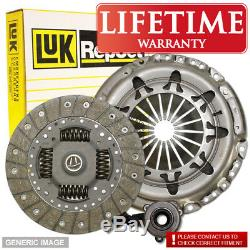Vauxhall Zafira Mk I 2.0 Gsi Turbo Luk Clutch Kit 192 09/01-06/05 Fwd Mpv Z20Le