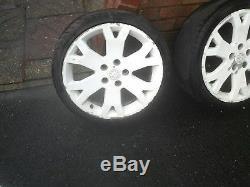 Vauxhall astra mk4 gsi snowflake alloy wheels 17 inch