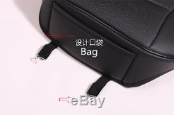 Vehicle Luxury seat cover 3 PCS Set PU Leather 53×54cm 124-140cm 2 Front&1 Rear