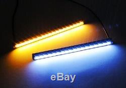White Amber Switchback Slim SAMSUNG LED Side Indicator Daytime Running Light DRL
