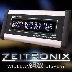 Zeitronix Zt-2 & LCD Display Bundle Wideband Gauge AFR